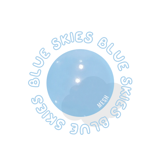 blue skies ball pit ball