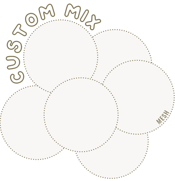 custom mix ball pit ball